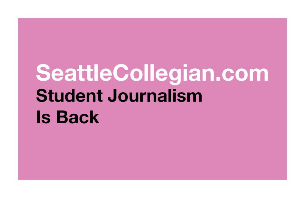 Seattle Collegian Poster