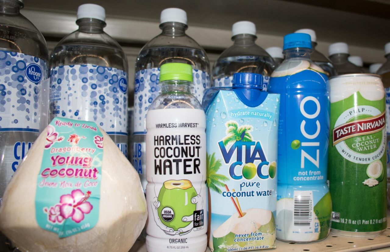 A Review of Popular Coconut Water Brands