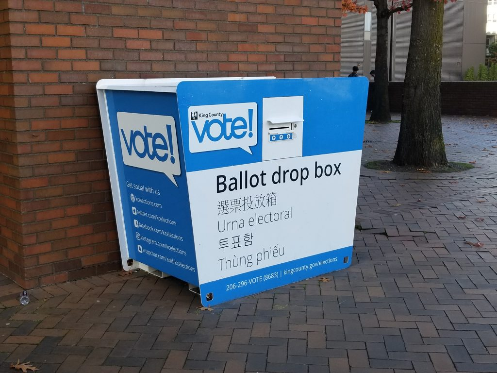 Voter Ballot Box