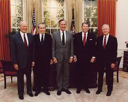 George-HW-Bush-and-other-former-Presidents