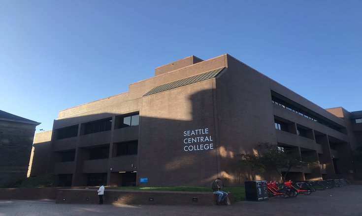 Seattle Central College's main campus - Broadway Edison building