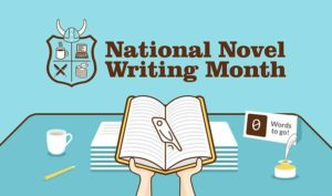 National Novel Writing Month Graphic