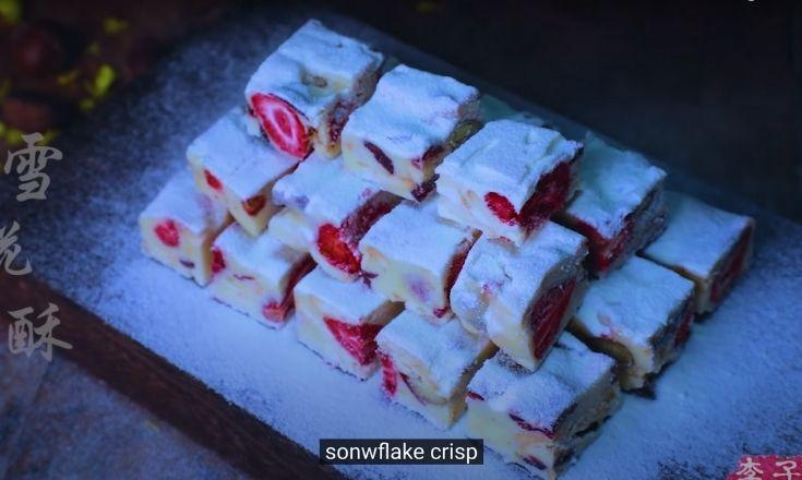 Li Ziqi's dessert, Snowflake Crisp