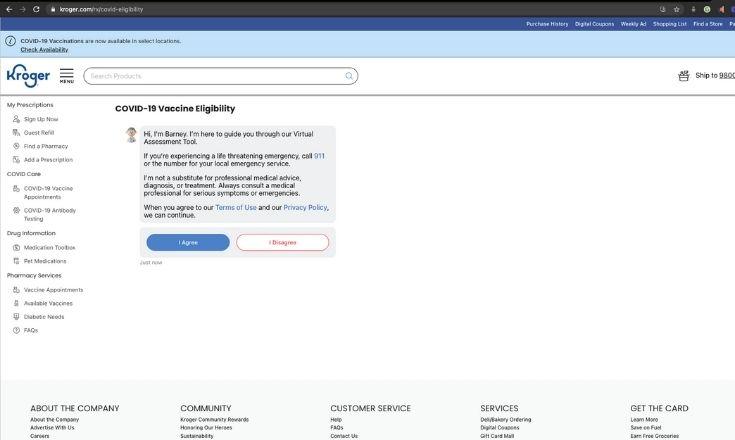 Verify eligibility