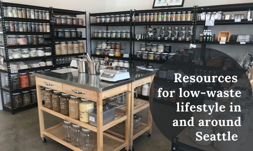 Scoop Marketplace, zero-waste grocery store, Seattle
