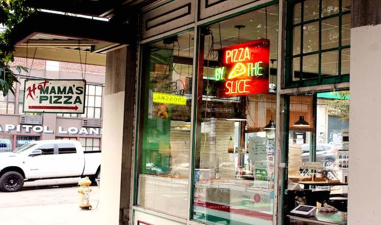 Hot Mama's Pizza / 700 E Pine St, Seattle, WA 98122